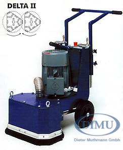 Dimu-Schleifmaschine Typ Delta 2-S