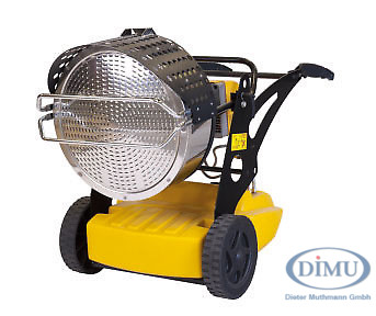 Infrarot-Ölheizer 43 kW, 1-stufig