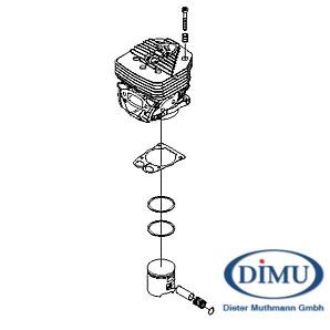 Zylinder-/Kolbensatz, kpl. ICS 695XL