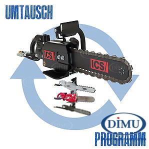 Umtauschprogramm für ICS-Hydrauliksägen