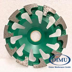 Dimu Diaschleiftopf T grün Pro ø 130 mm