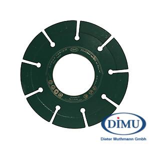 Diafrässcheibe DTF25 ø125 Abrasiv extrem