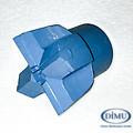 Kreuzkrone blau 36 mm großer Konus