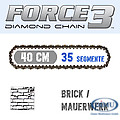 Diamantkette Force3-35 Abrasive /Brick