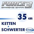 Force3 Diamantketten und Schwerter 35 cm
