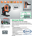 X-LINER 3D green 3x360° Laserlinien